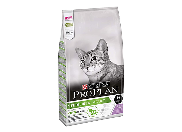 CROQUETTES CHAT PURINA® PRO PLAN® STERILISED ADULT 'OPTIRENAL' DINDE - 1.5KG