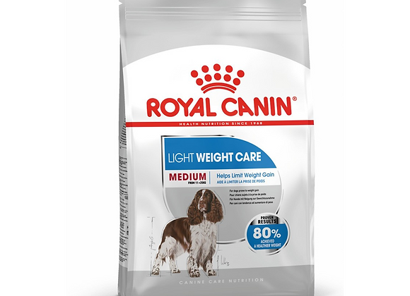 CROQUETTES CHIEN ROYAL CANIN® MEDIUM LIGHT WEIGHT CARE - 9KG