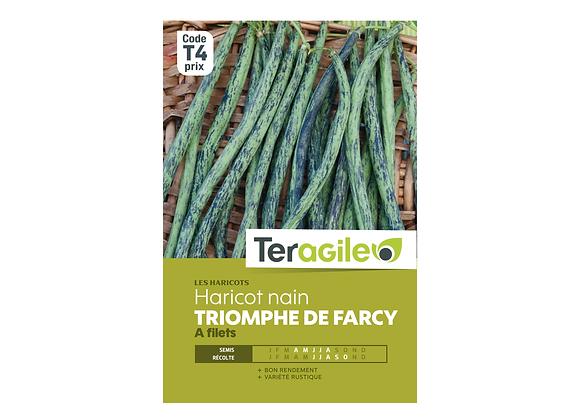 GRAINES HARICOT TRIOMPHE DE FARCY NAIN 200G À FILETS TERAGILE®