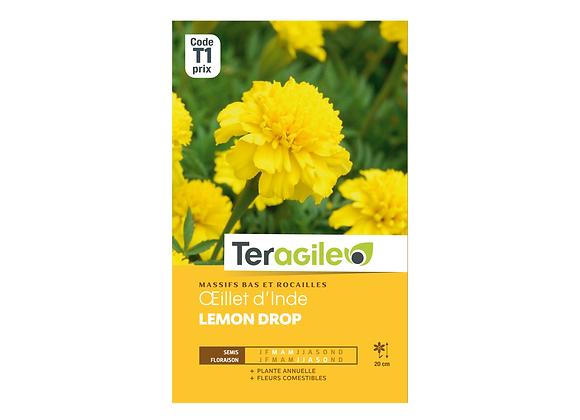 GRAINES OEILLET D'INDE LEMON DROP 1G TERAGILE®