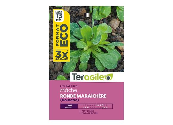 GRAINES MÂCHE RONDE MARAÎCHÈRE DOUCETTE ECO 12G TERAGILE®