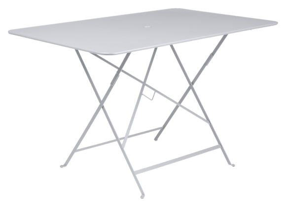 TABLE PLIANTE FERMOB BISTRO 117X77 BLANC COTON