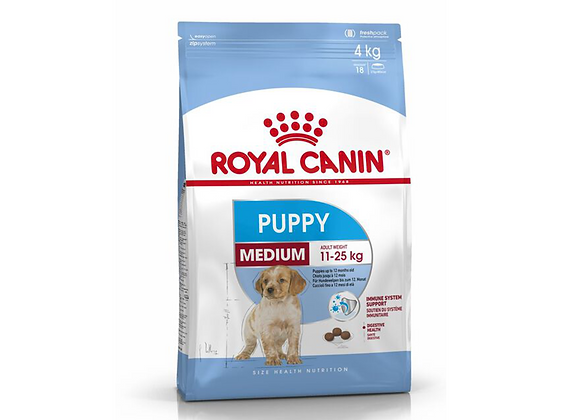 CROQUETTES CHIOT ROYAL CANIN® MEDIUM PUPPY - 4KG