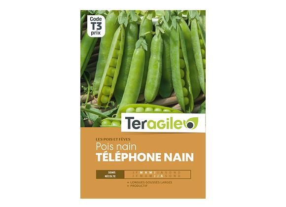 GRAINES POIS TÉLÉPHONE NAIN 220G TERAGILE®