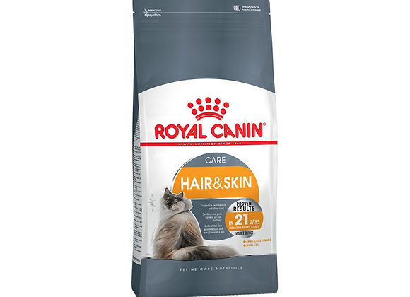 CROQUETTES CHAT ROYAL CANIN® HAIR & SKIN CARE - 4KG