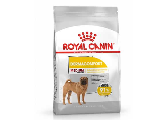 CROQUETTES CHIEN ROYAL CANIN® MEDIUM DERMACOMFORT - 3KG