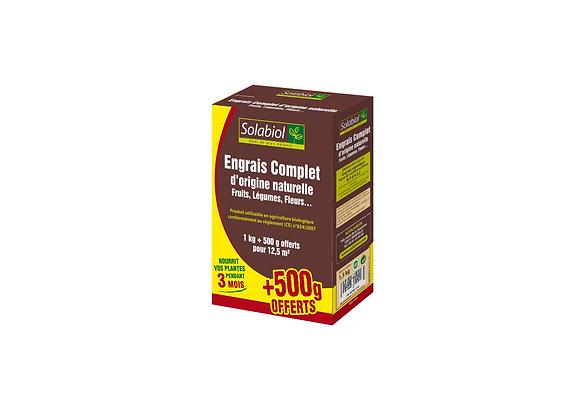 ENGRAIS COMPLET 1KG + 500G OFFERT