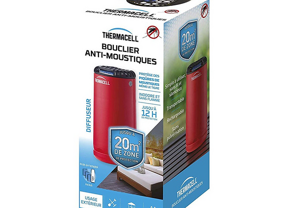 BOUCLIER ANTI-MOUSTIQUES ROUGE THERMACELL