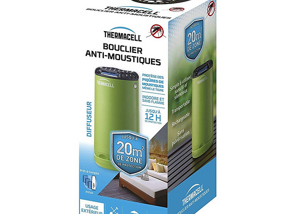 BOUCLIER ANTI-MOUSTIQUES VERT THERMACELL