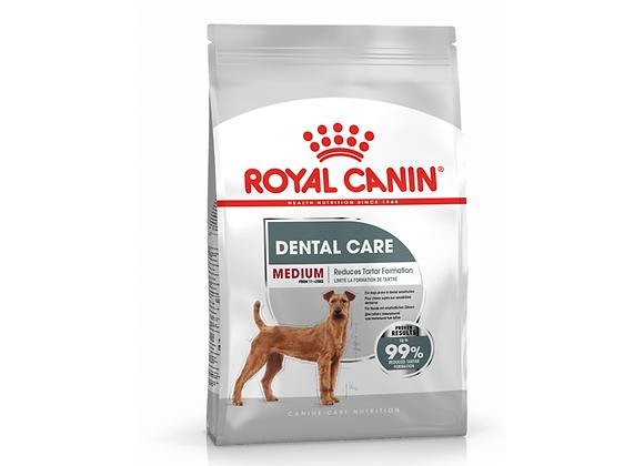 CROQUETTES CHIEN ROYAL CANIN® MEDIUM DENTAL CARE - 3KG