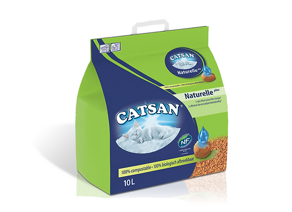 CATSAN LITIERE NATURELLE 10L