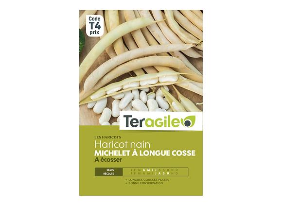 GRAINES HARICOT MICHELET 220G À LONGUE COSSE TERAGILE®