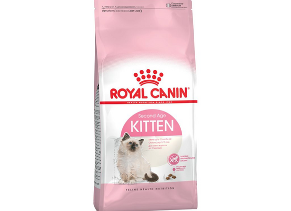 CROQUETTES CHATON ROYAL CANIN® KITTEN  SECOND AGE - 2KG