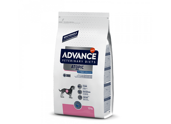 CROQUETTES CHIEN ADVANCE® VETERINARY DIETS - ATOPIC - MINI - 1,5KG