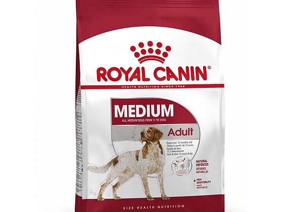CROQUETTES CHIEN ROYAL CANIN® MEDIUM ADULT - 15KG