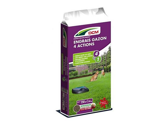 ENGRAIS GAZON 4 ACTION DCM® - 10KG