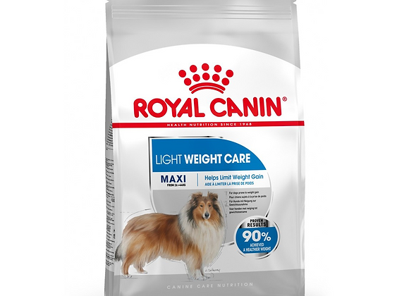 CROQUETTES CHIEN ROYAL CANIN® MAXI LIGHT WEIGHT CARE - 10KG