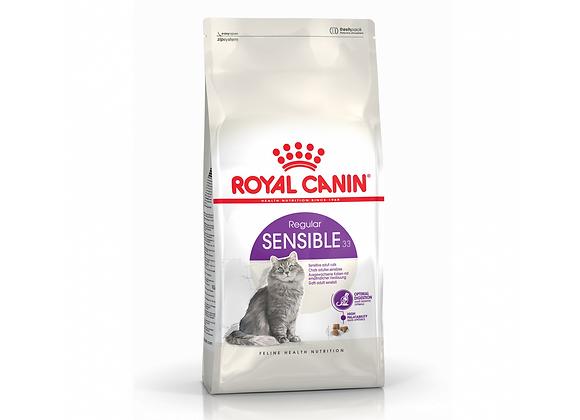 CROQUETTES CHAT ROYAL CANIN® REGULAR SENSIBLE 33 - 400G