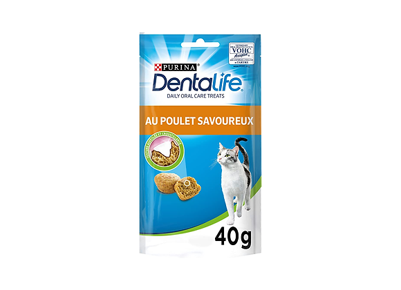 FRIANDISES CHAT PURINA® DENTALIFE® POULET - 40GR