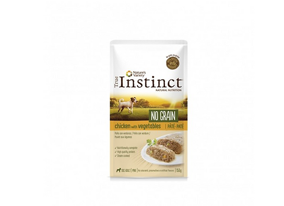 TRUE INSTINCT MINI - POULET 150GR