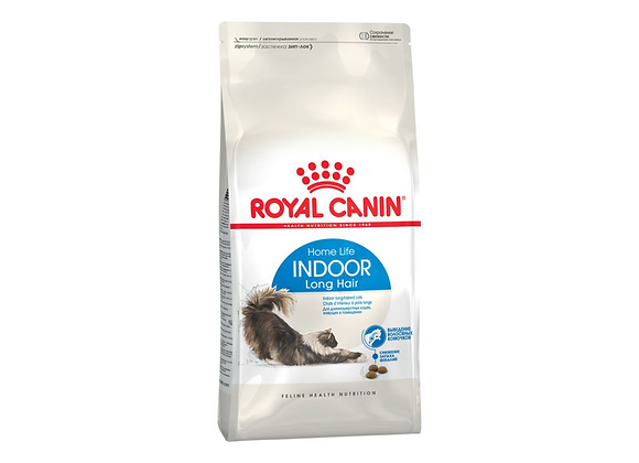 CROQUETTES CHAT ROYAL CANIN® HOME LIFE INDOOR LONG HAIR - 400G