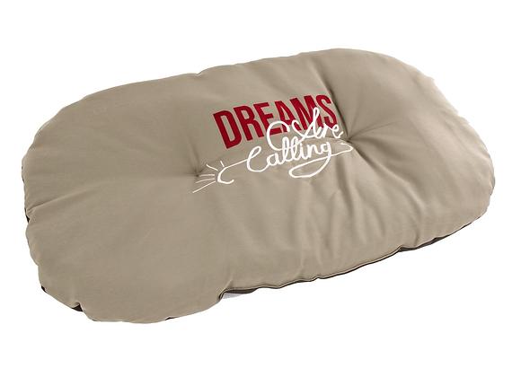 COUSSIN 'DREAMS' 105X72CM KAKI MARTIN SELLIER®