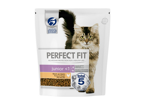CROQUETTES CHATON PERFECT FIT® JUNIOR - POULET - 750G