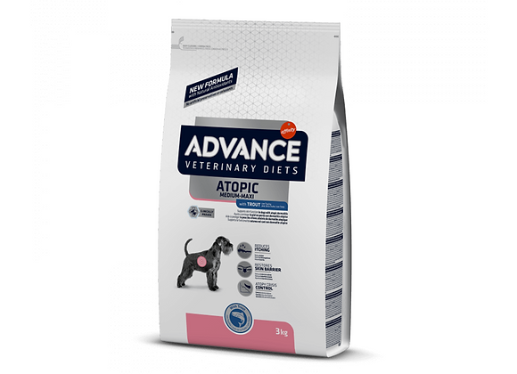 CROQUETTES CHIEN ADVANCE® VETERINARY DIETS - ATOPIC - MEDIUM/MAXI - 3KG
