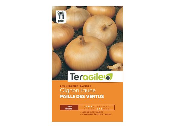 GRAINES OIGNON JAUNE PAILLE DES VERTUS 5G TERAGILE®