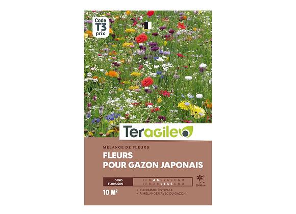 GRAINES FLEURS POUR GAZON JAPONAIS 20G TERAGILE®