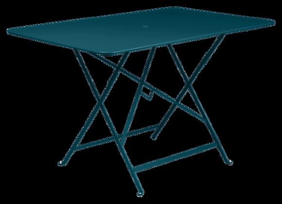 TABLE PLIANTE FERMOB BISTRO 117X77 BLEU ACAPULCO