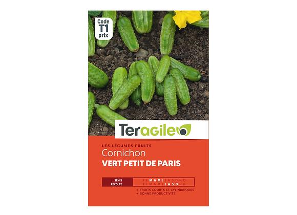 GRAINES CORNICHON VERT PETIT DE PARIS 3G TERAGILE®