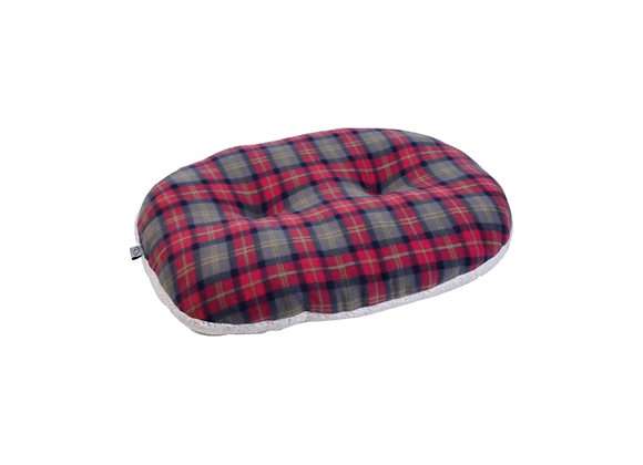 COUSSIN OVALE À CARREAUX ZOON® - EXTRA SMALL