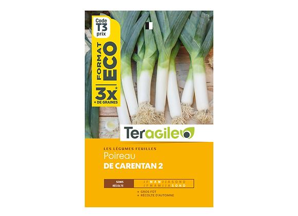 GRAINES POIREAU DE CARENTAN 2 ECO 9G TERAGILE®
