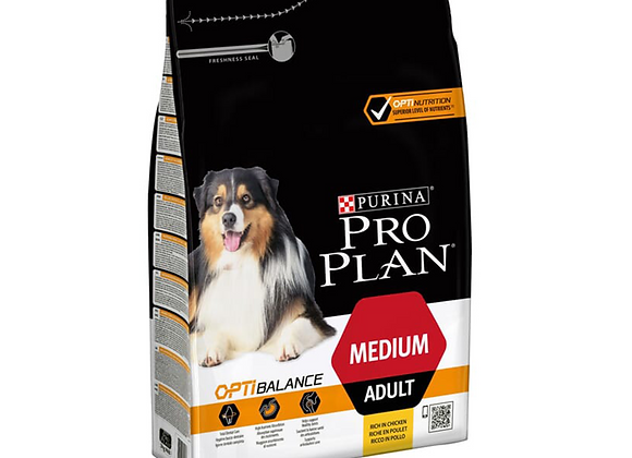 CROQUETTES CHIEN PRO PLAN® MEDIUM ADULT 'OPTIBALANCE' POULET - 3KG