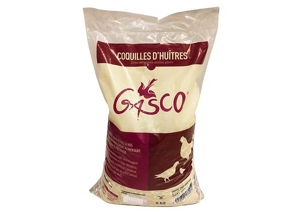 COQUILLES D'HUÎTRES POUR PIGEONS ET VOLAILLES GASCO® - 5KG