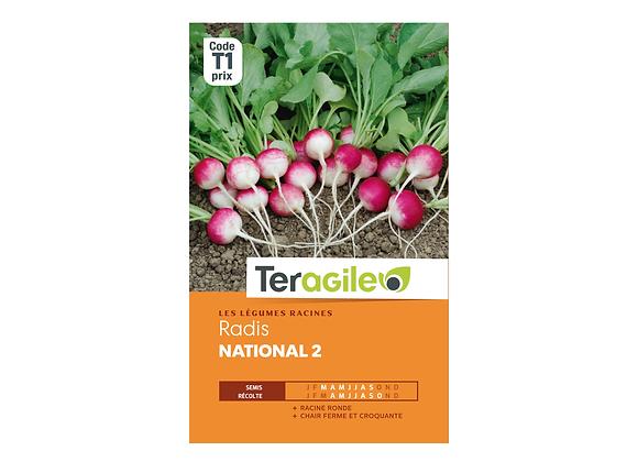 GRAINES RADIS NATIONAL 2 9G TERAGILE®