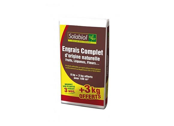 ENGRAIS COMPLET 9KG+3KG OFFERT