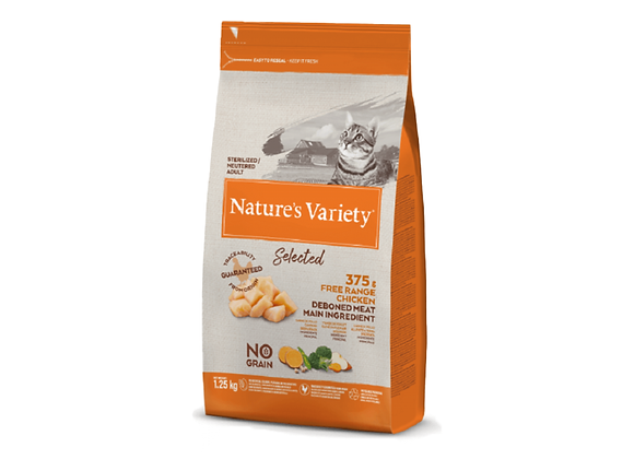 CROQUETTES CHAT NATURE'S VARIETY® STERILISED ADULT CHICKEN - 1.25KG