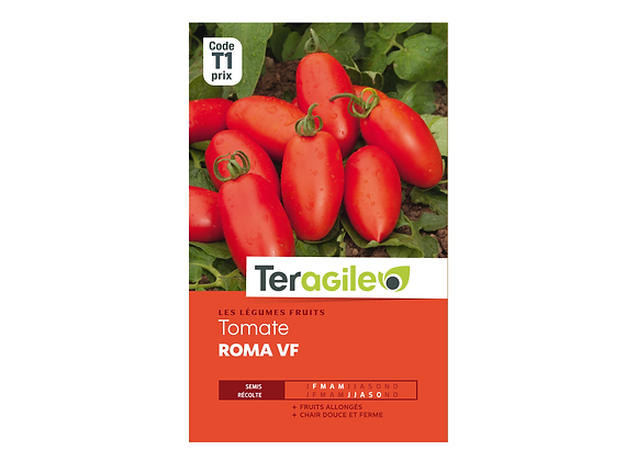 GRAINES TOMATE ROMA VF TERAGILE®