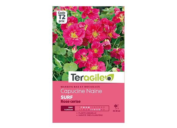 GRAINES CAPUCINE NAINE SURF ROSE CERISE 5G TERAGILE®