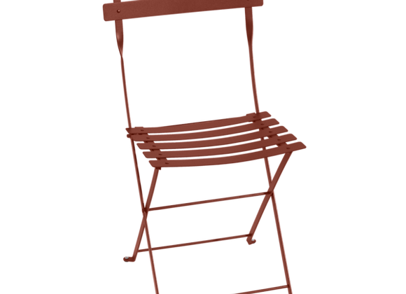 CHAISE FERMOB BISTROT OCRE ROUGE