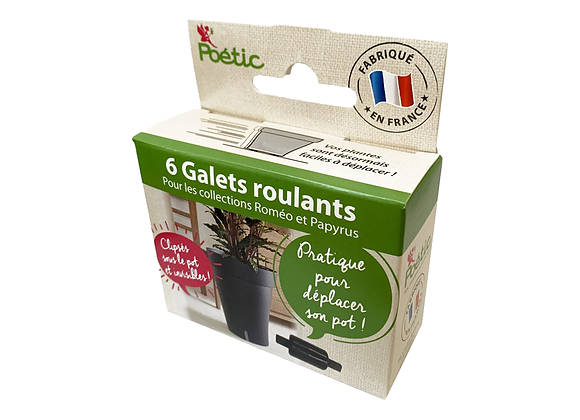GALETS ROULANTS X6 POÉTIC®