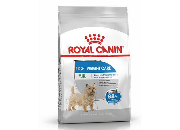 CROQUETTES CHIEN ROYAL CANIN® MINI LIGHT WEIGHT CARE - 3KG