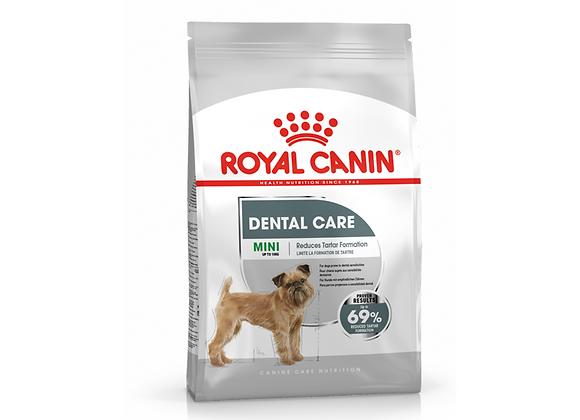 CROQUETTES CHIEN ROYAL CANIN® MINI DENTAL CARE - 3KG