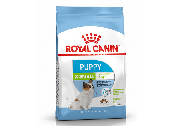 CROQUETTES CHIOT ROYAL CANIN® X-SMALL PUPPY 1.5KG