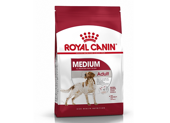 CROQUETTES CHIEN ROYAL CANIN® MEDIUM ADULT - 4KG