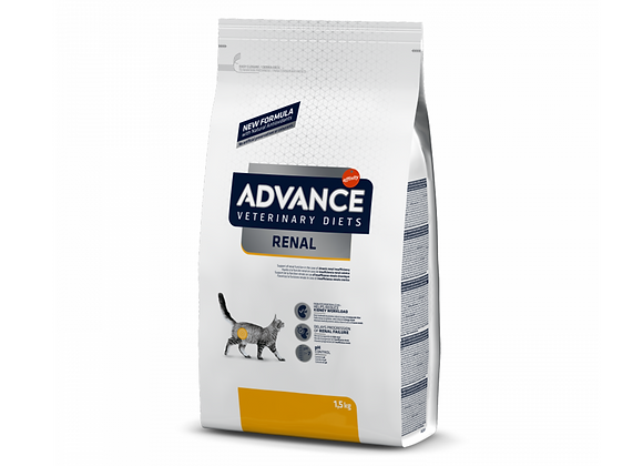 CROQUETTES CHAT ADVANCE® VETERINARY DIETS - RENAL - 1,5KG