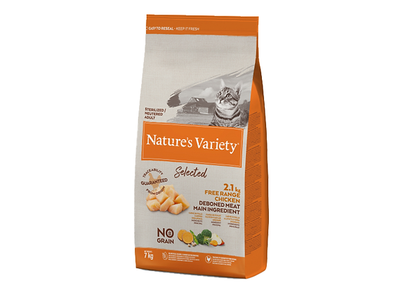 CROQUETTES CHAT NATURE'S VARIETY® STERILISED ADULT CHICKEN - 7KG