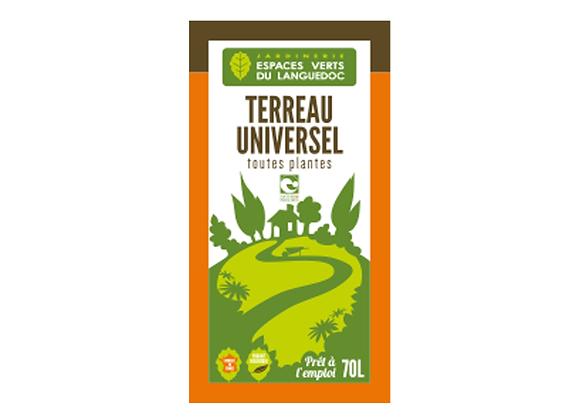 TERREAU UNIVERSEL EVL - 70L